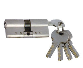Steel High Security Euro Cylinder Locks With Breaker Strip 'C' And Computer Keys
